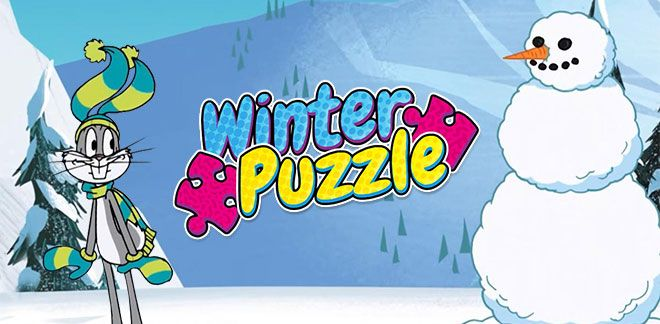 Winter Puzzle-New Looney Tunes