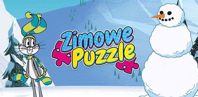 Zimowe puzzle-New Looney Tunes