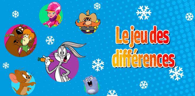 Le jeu des différences-New Looney Tunes