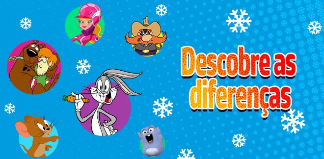 Descobre as diferenças-New Looney Tunes