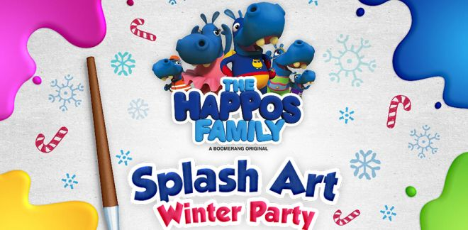 Splash Art Winter Party