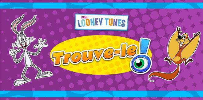 Trouve-le-Bugs et les Looney Tunes