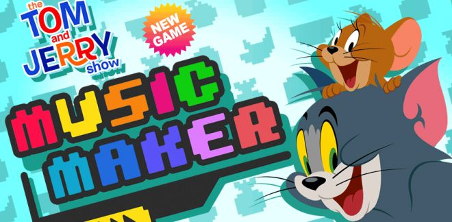 Music Maker | Tom & Jerry Games | Boomerang