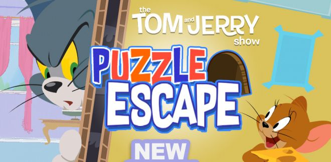 Puzzle Escape | Tom & Jerry Games | Boomerang