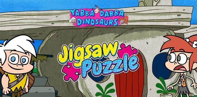 Jigsaw Puzzle - Yabba Dabba Dinosaurs
