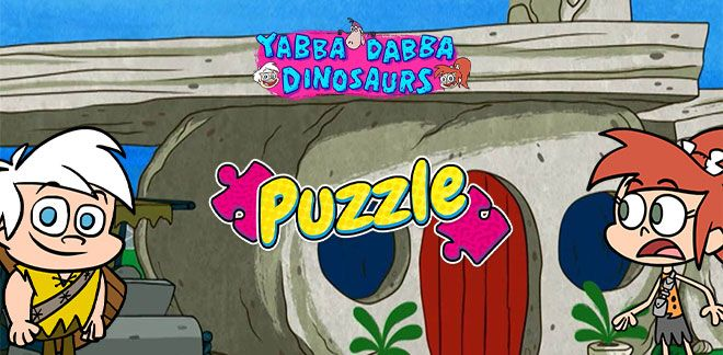 Puzzle - Yabba Dabba Dinozaury