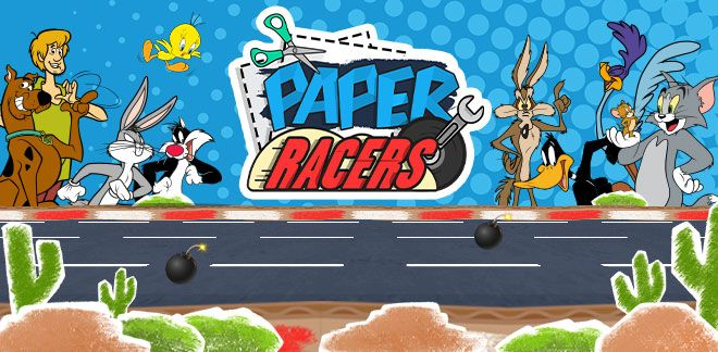 Paper Racers - Tom and Jerry