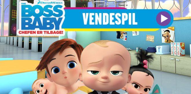 Boss Baby Vendespil