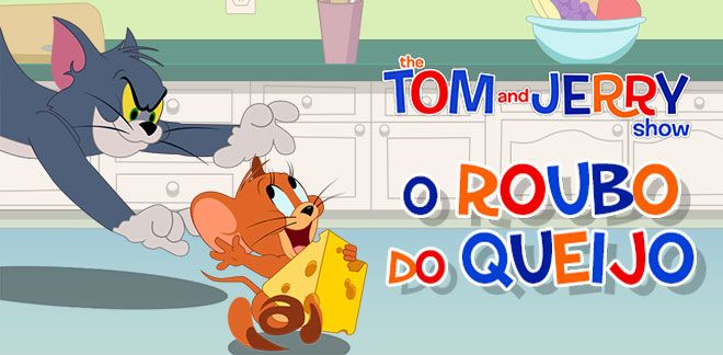 O Roubo do Queijo - O Show de Tom e Jerry
