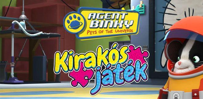 Kirakós játék - Binky ügynök