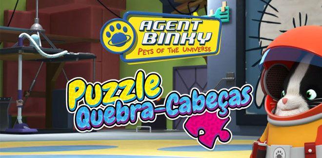 Puzzle Quebra-Cabeças - Agente Binky