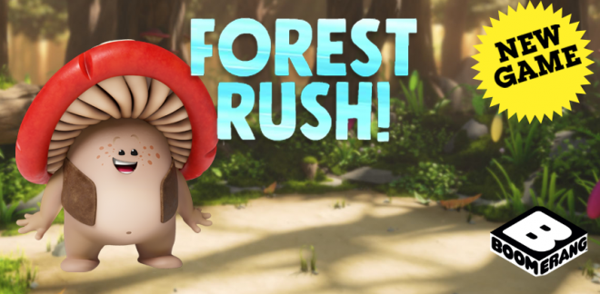 Forest Rush | Mush-Mush and the Mushables Games