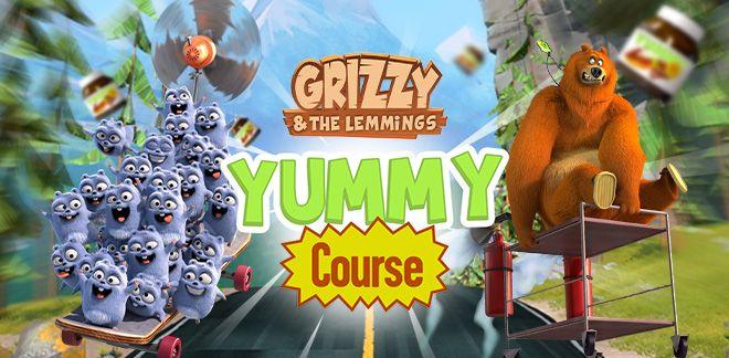 Grizzy et les Lemmings - Yummy Course