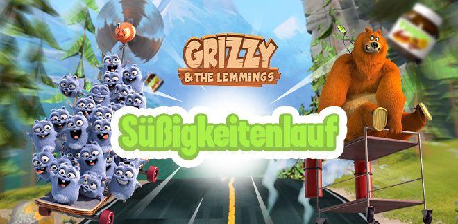 Grizzy und die Lemminge - Süßigkeitenlauf