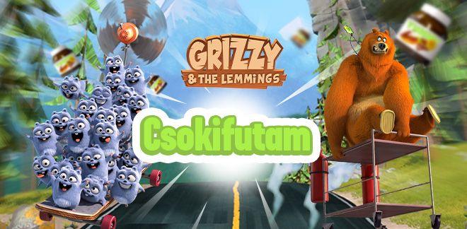 Grizzy és a lemmingek - Csokifutam
