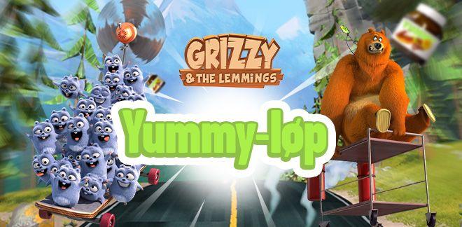 Grizzy og lemenene - Yummy-løp