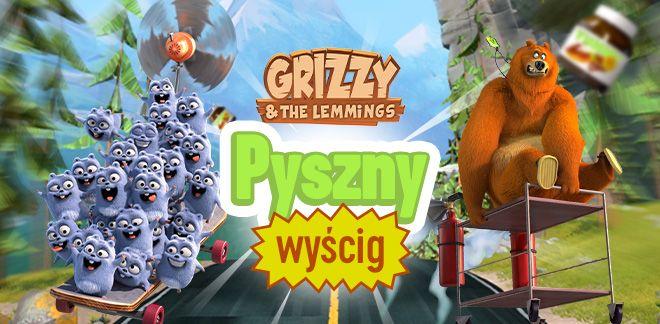 Grizzy i lemingi - Pyszny wyścig