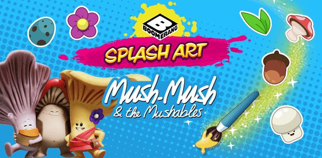 Flipi und die Pilzlinge Splash Art