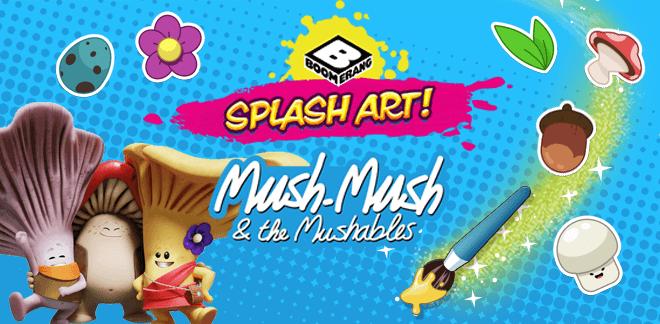 Mush-Mush och Svampinjonerna Splash Art