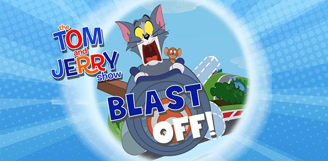 Tom and Jerry Blast Off