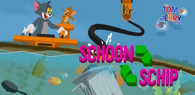 Tom and Jerry - Schoon schip