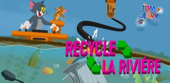 Le Tom et Jerry Show - Recycle la rivière