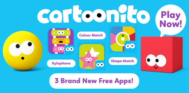 Cartoonito Apps