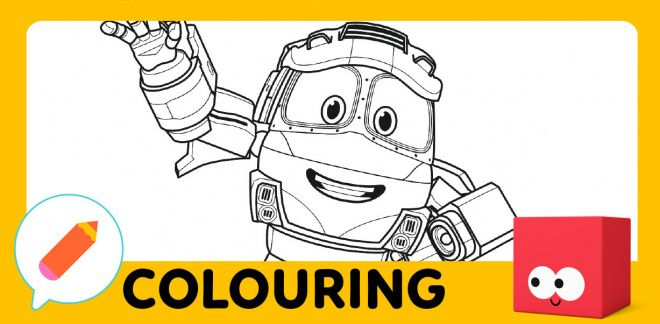 Colouring activity!
