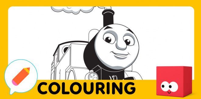 Colour in Thomas!