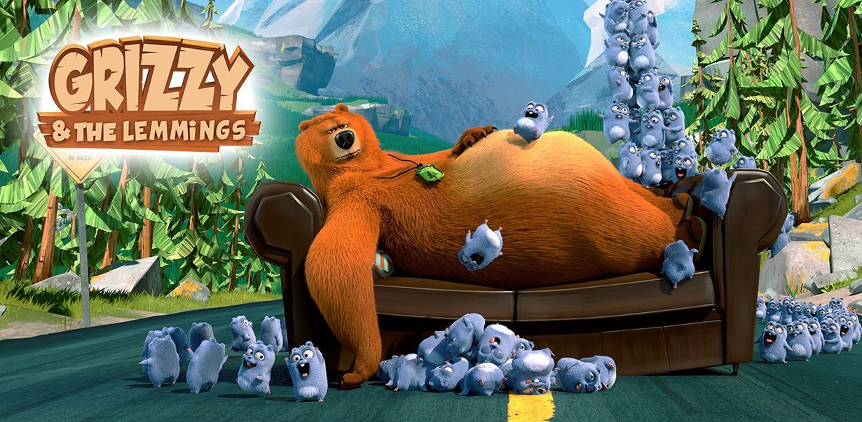 Grizzy e i lemming video e giochi divertenti cartoonito