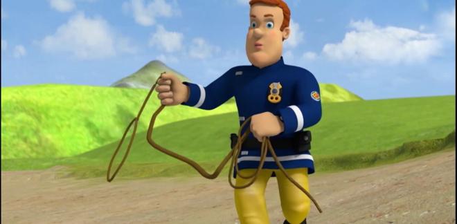 Il pic-nic - Sam il Pompiere