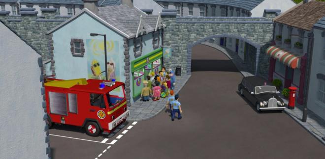 La visita del Principe - Sam il Pompiere