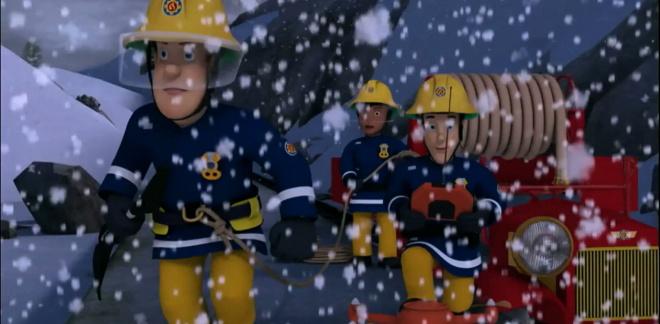 Salvataggio di Natale - Sam il Pompiere