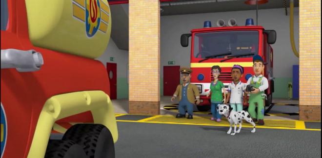 Salvataggio in mare - Sam il Pompiere
