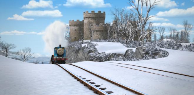 414. Santa's Little Engine - Thomas & Friends: Big World! Big Adventures!