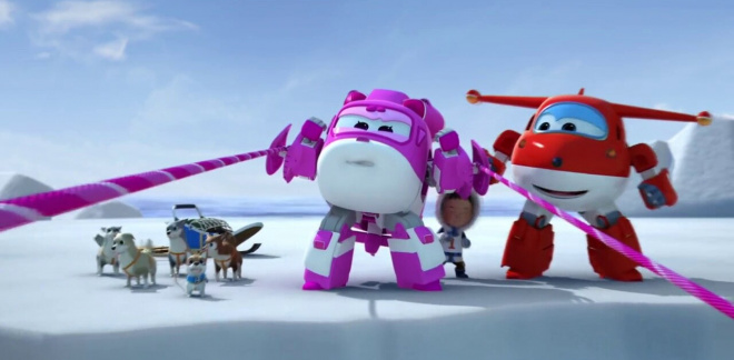 Artic Run - Super Wings