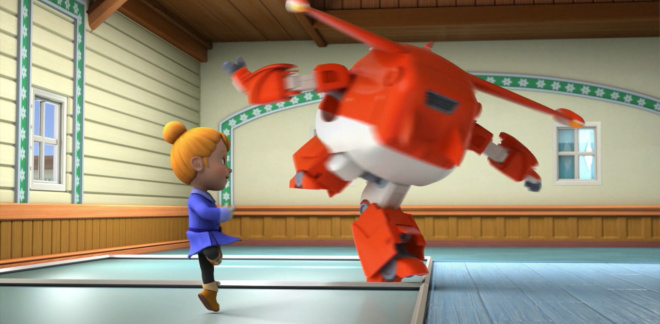 Ballet Day - Super Wings