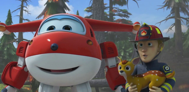 Fireman Dad - Super Wings