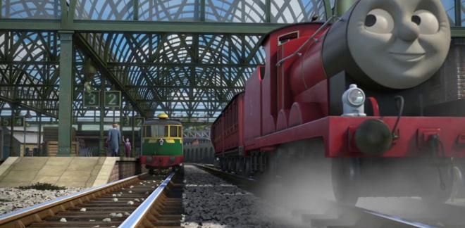 Pouty James - Thomas & Friends: Big World! Big Adventures!