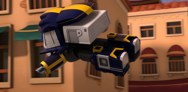 Run, Kay! - Robot Trains