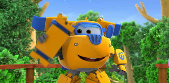 The Trouble With Trompos - Super Wings