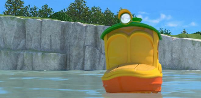 Yeah! Waterland Waterpark! - Robot Trains
