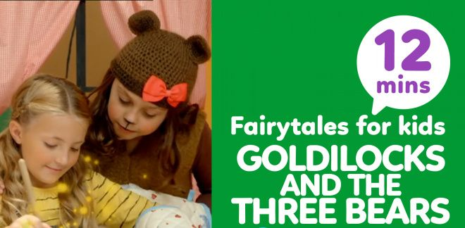 Goldilocks and the Three Bears - Cartoonito Tales
