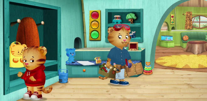 A lavoro con la mamma - Daniel Tiger's Neighborhood