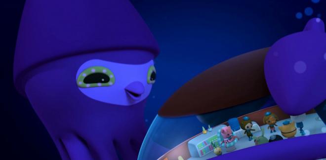 Un calamaro davvero gigante - Gli Octonauti