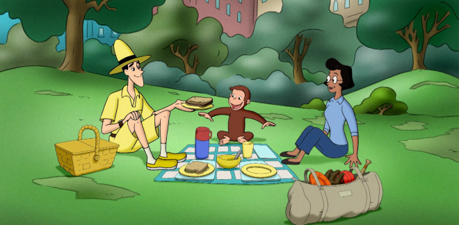 Pic nic in the park - Curious George