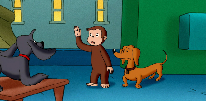 Dog training - Curious George