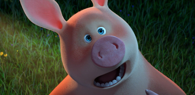 Rosie the independent pig - Masha and The Bear