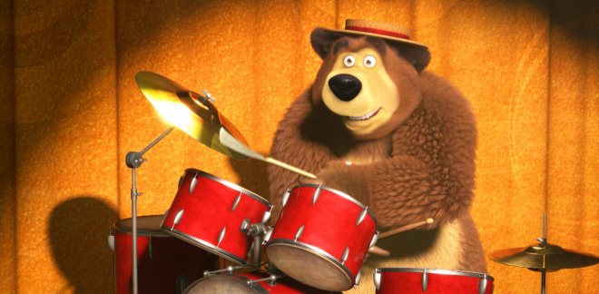 Musical bears - Masha and The Bear