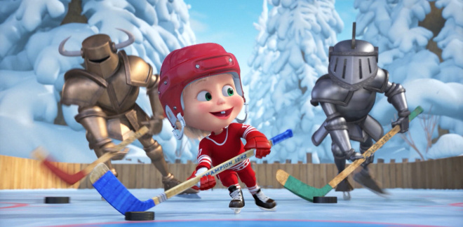 Ice hockey - Masha and The Bear